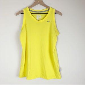 Nike Dri-fit cotton sleeveless tee
